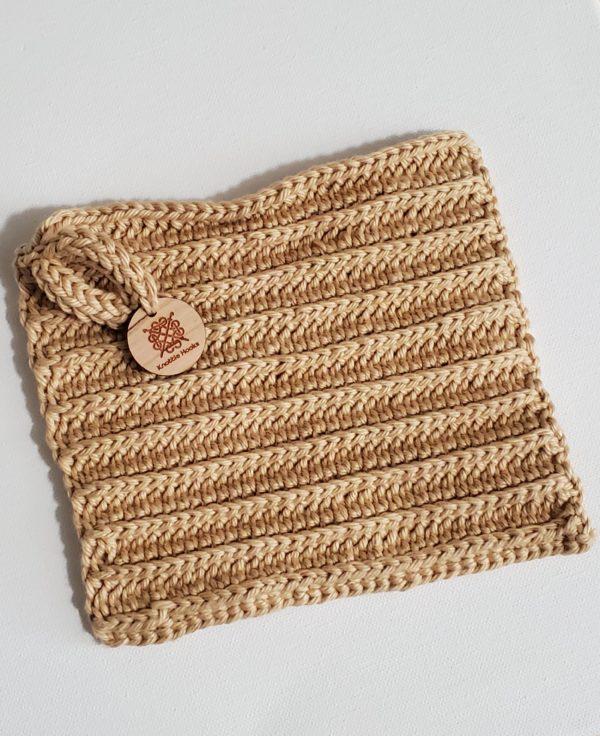 Wash Cloth Tan